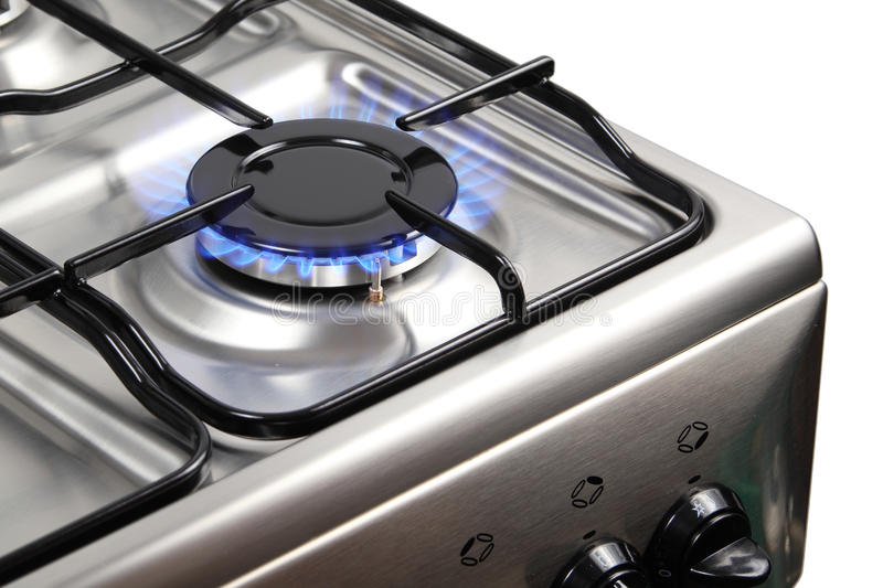 Download Gas flame stock image. Image of appliance, cooking, burner - 14784107