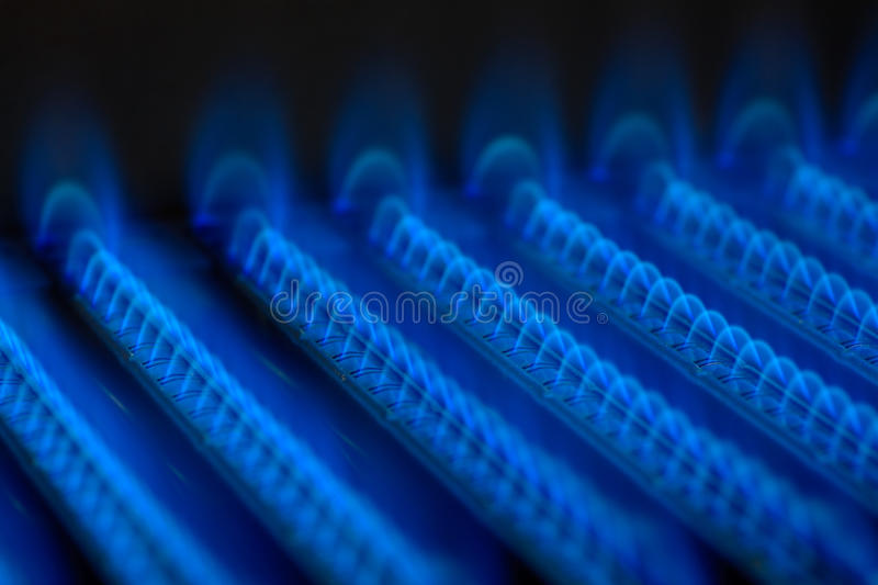 Download Gas flame stock image. Image of house, natural, boiler - 17418467