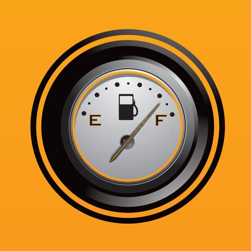 gas gauge απεικόνιση αποθεμάτων
