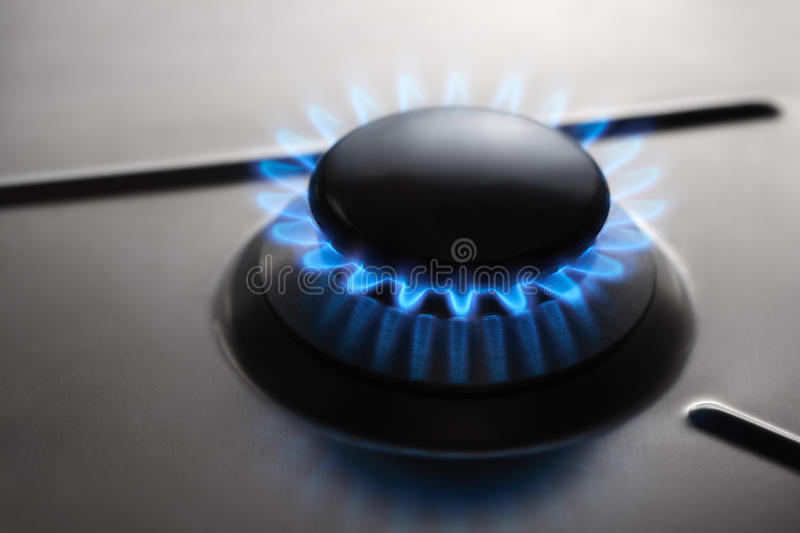 Gas Hob Cooker stock images