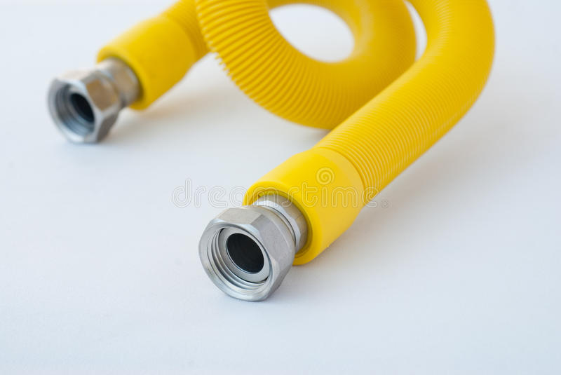 Download Gas hose stock photo. Image of yelow, metal, petrol, male - 24743278