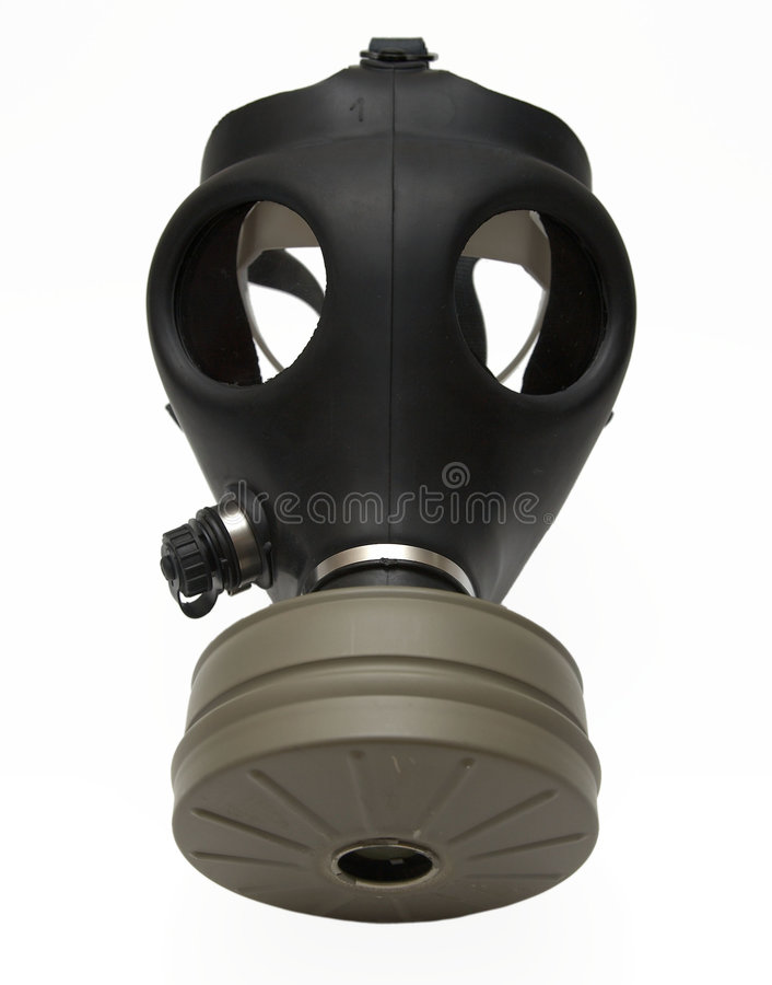 Gas Isolerad Maskering Royaltyfri Bild