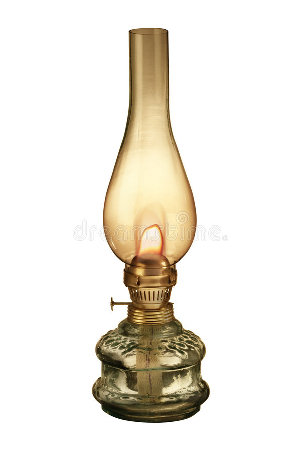 Gas lamp royalty free stock photography