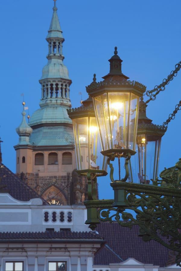 Download Gas lantern prague stock image. Image of vitus, architecture - 12305435