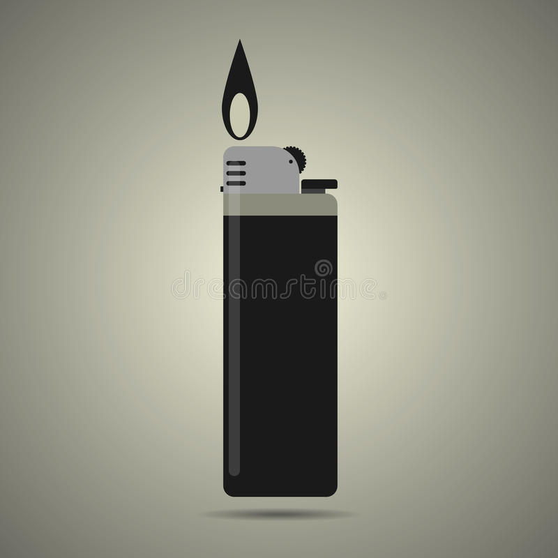 Gas lig vector illustratie