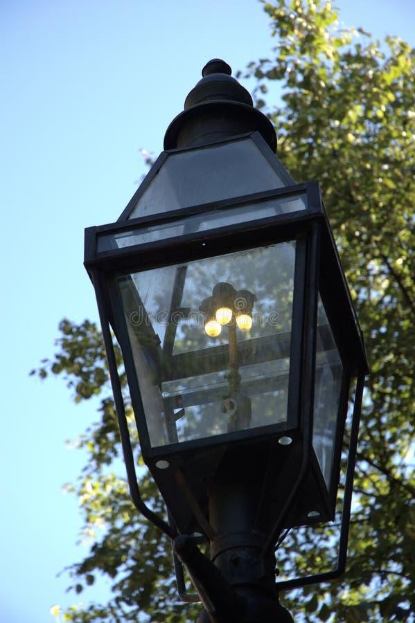 Download Gas-lit Lamppost 1 stock image. Image of antique, boston - 237455