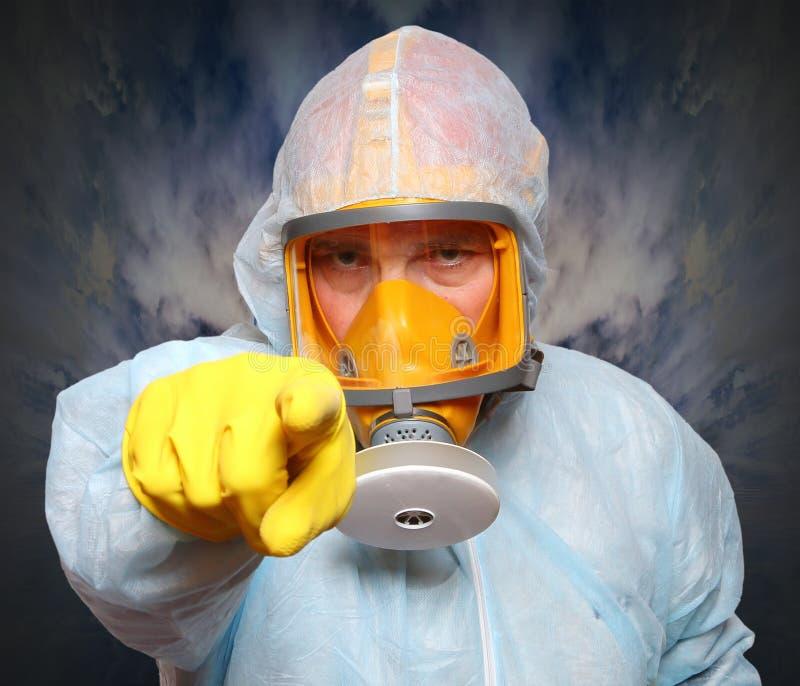 gas manmaskeringen royaltyfri fotografi