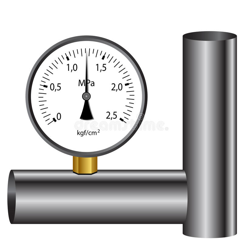 Download The Gas Manometer Stock Photography - Image: 23358882