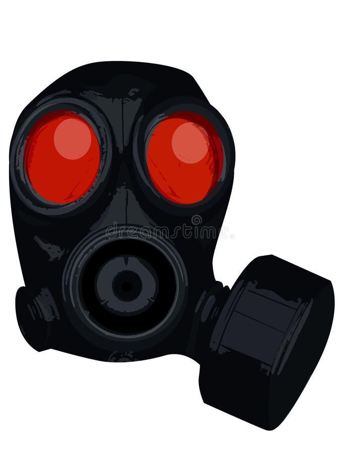 Download Gas mask stock illustration. Illustration of nuclear, filter - 117110
