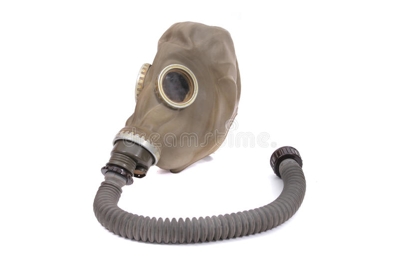 Gas mask stock image