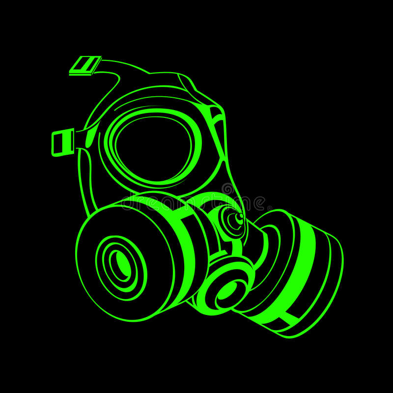 Download Gas Mask Royalty Free Stock Image - Image: 25748836