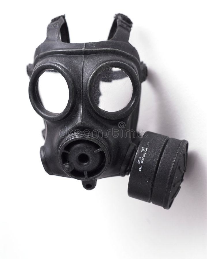 Free Gas Mask Royalty Free Stock Photography - 3682237