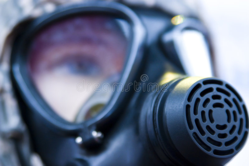 Download Gas mask stock image. Image of mask, facial, toxins, person - 3773995