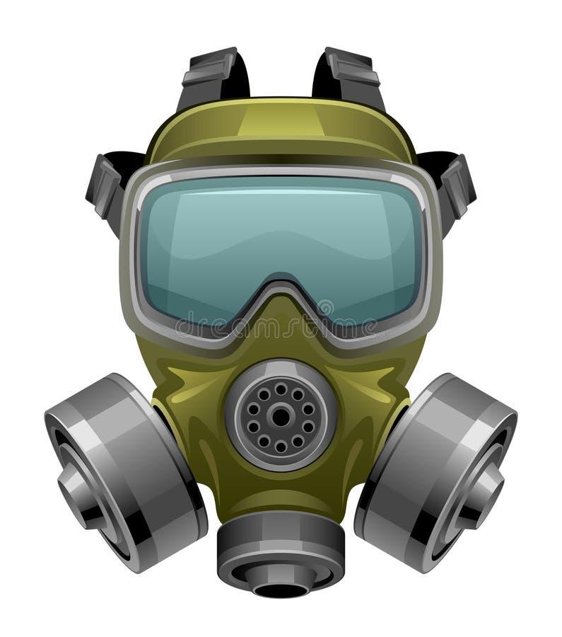 Gas mask lizenzfreie abbildung