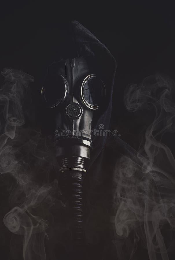 Gas mask royalty-vrije stock fotografie