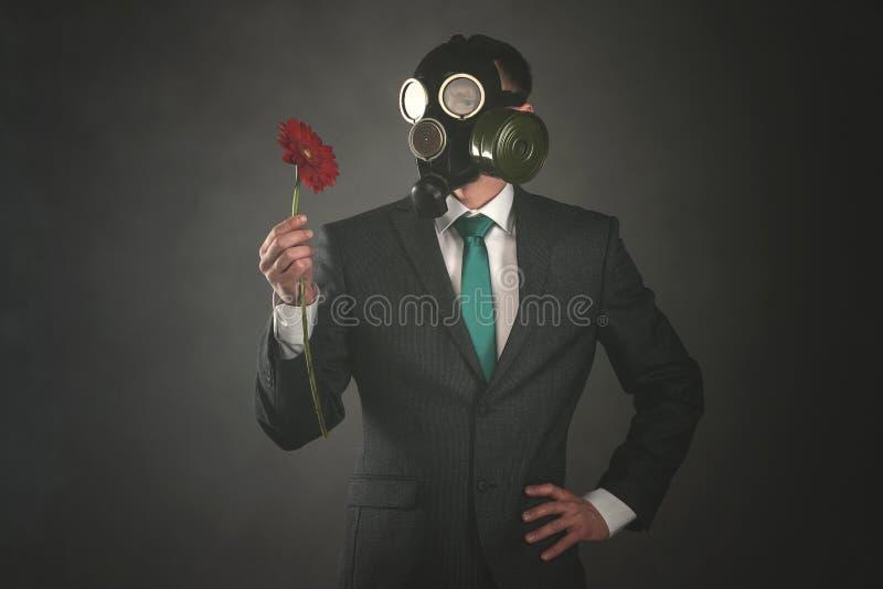 Gas mask fotografia stock