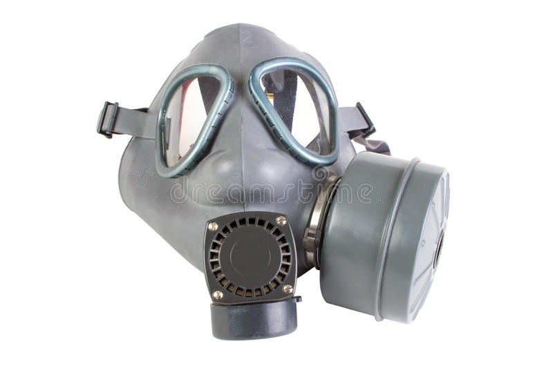 Download Gas mask with filter stock image. Image of rubber, defense - 18643461