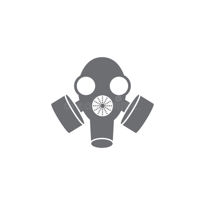 Gas Mask Icon. Simple Element Illustration. Gas Mask Symbol Design ...