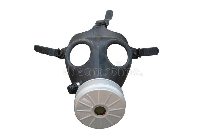 Download Gas mask isolated on white stock image. Image of concept - 13703531