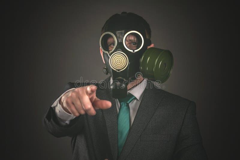 Gas mask fotografia stock libera da diritti