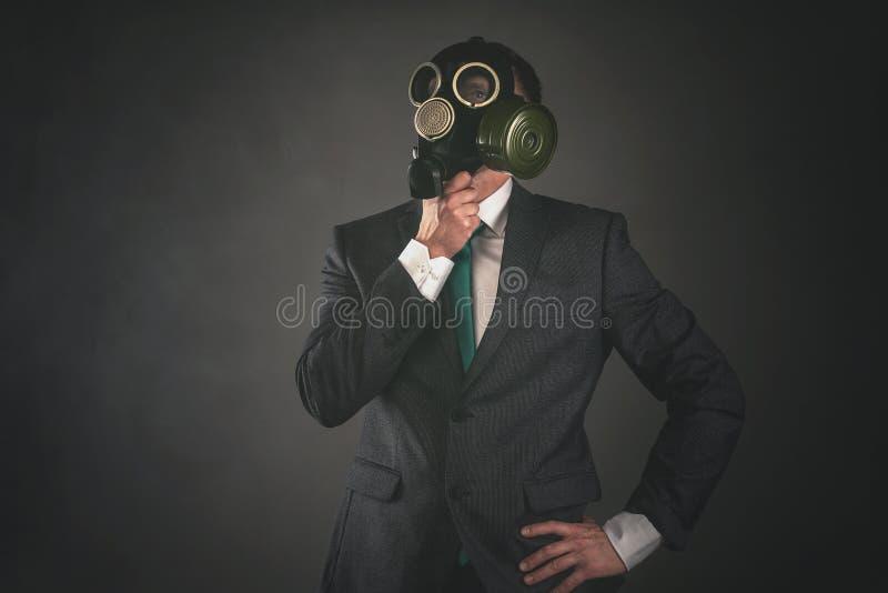 Gas mask fotografie stock