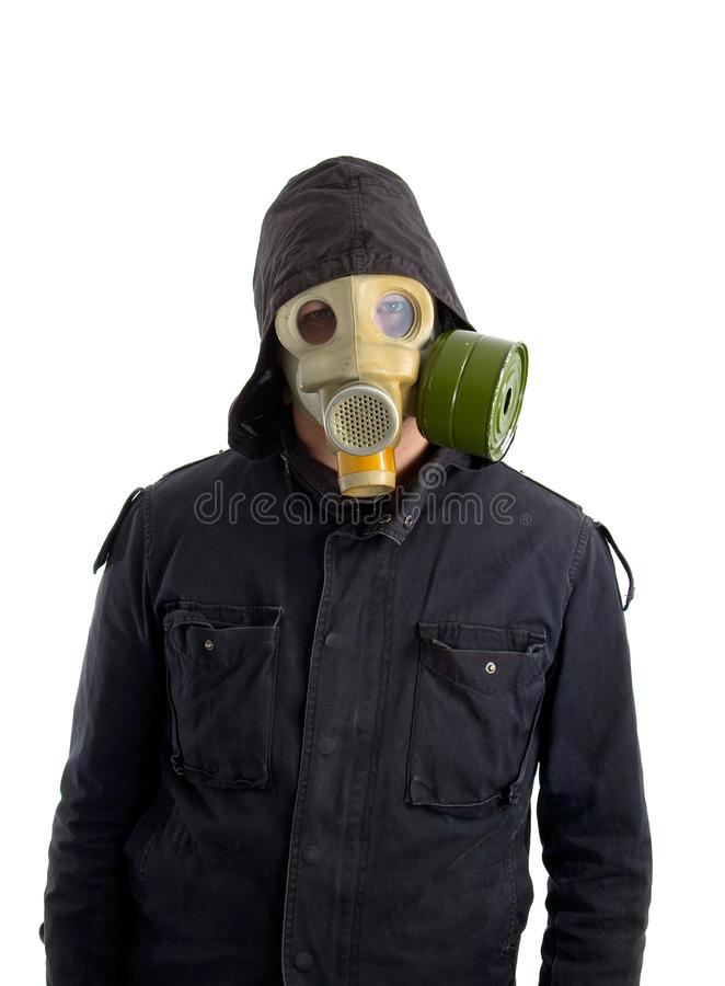 Download Gas mask stock image. Image of caution, wearing, hood - 30745469