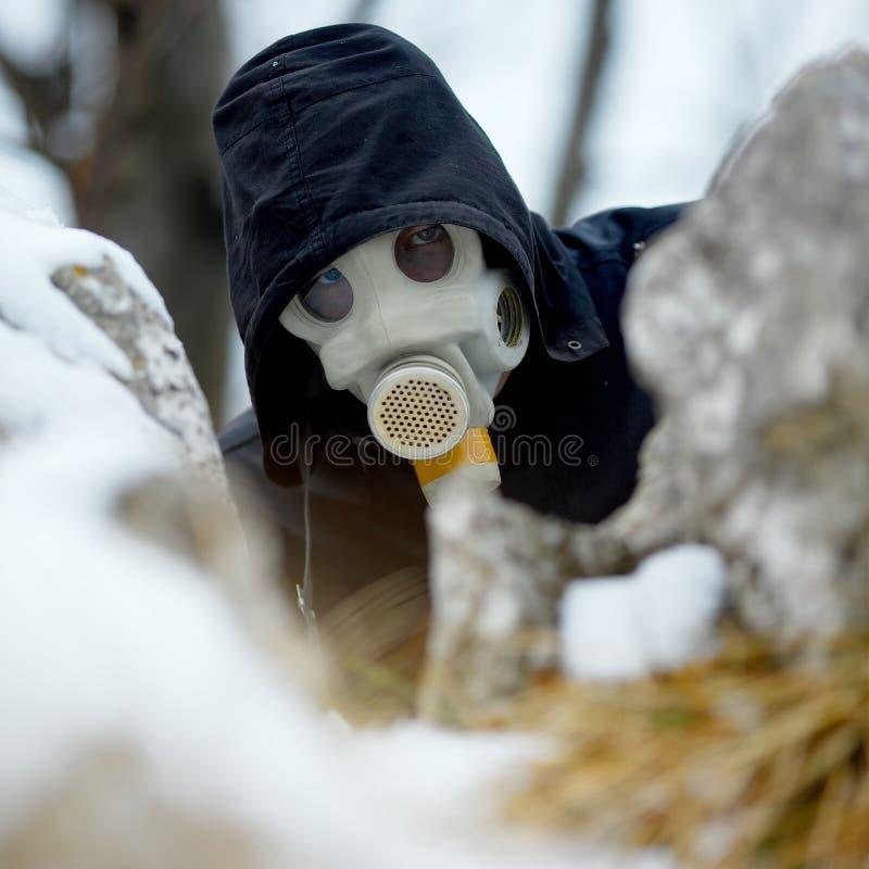 Download Gas mask stock photo. Image of hood, gasmask, material - 30780182