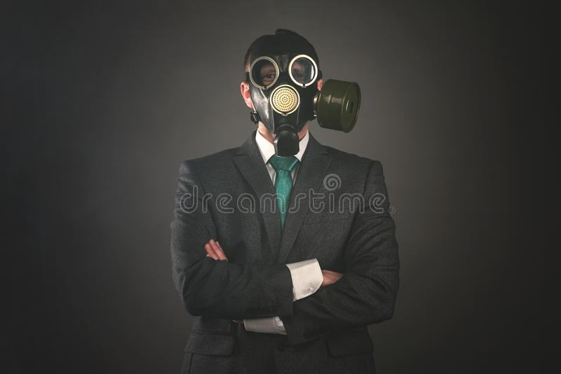 Gas mask stockfotografie