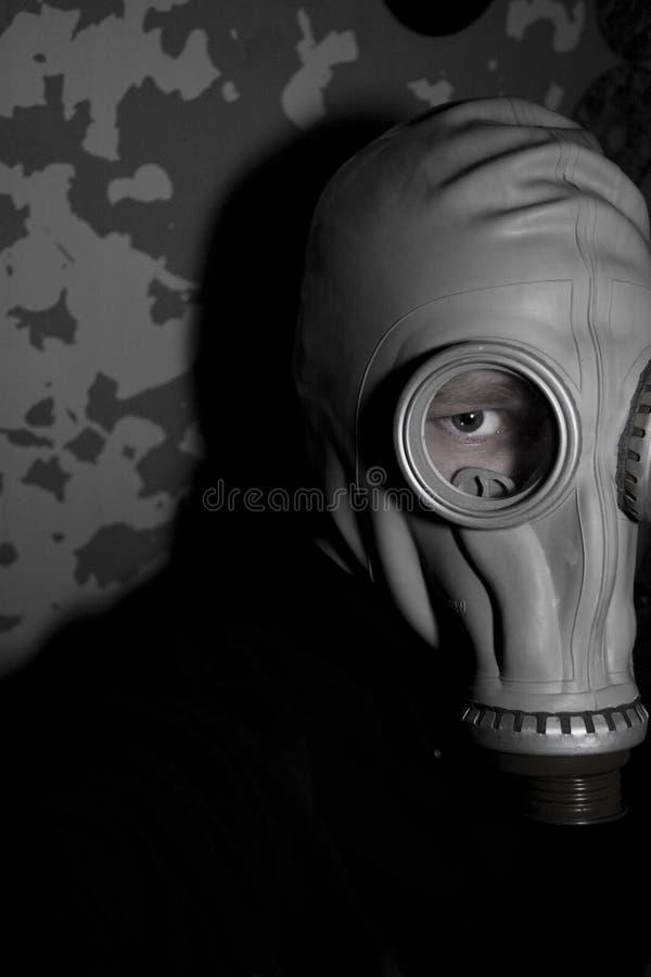 Gas-masker royalty-vrije stock foto's