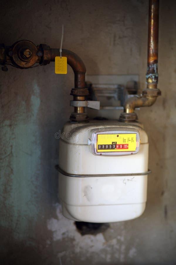 Gas Meter Royalty Free Stock Photo