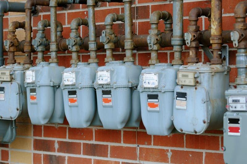 Download Gas meters stock photo. Image of energy, meter, monitor - 14553232
