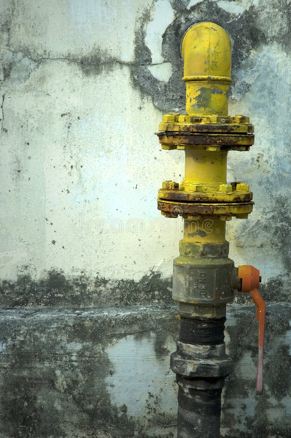 Gas Pipe stock images