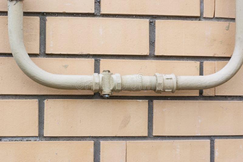 Gas pipe royalty free stock photos