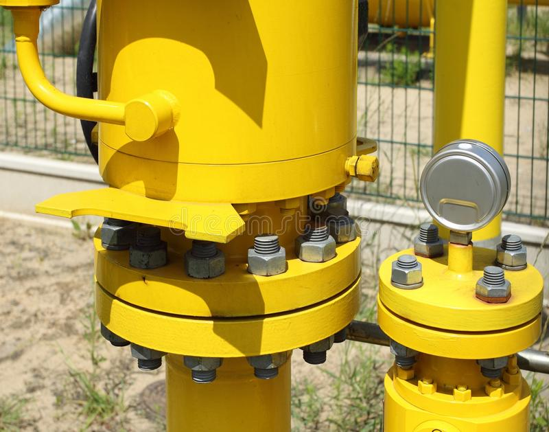 Download Gas pipe stock photo. Image of power, industrial, nuts - 35567228