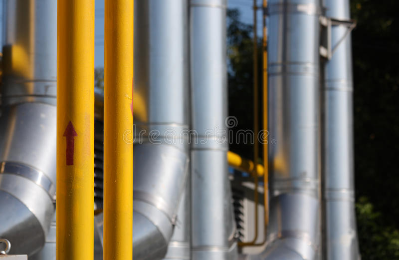 Download Gas Pipeline Royalty Free Stock Image - Image: 13263476