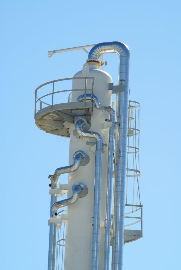 Free Gas Plant Tank Royalty Free Stock Image - 3161386