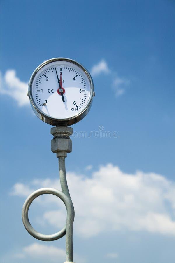 Free Gas Pressure Manometer Royalty Free Stock Photos - 9296598