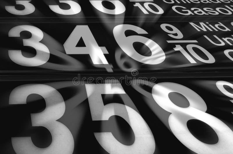 Gas Price Explosion Royalty Free Stock Image