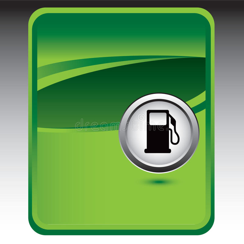 Download Gas Pump On Green Background Stock Images - Image: 11699054