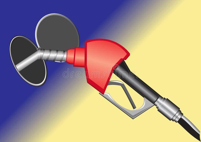 Gas Pump Nozzle Stock Images