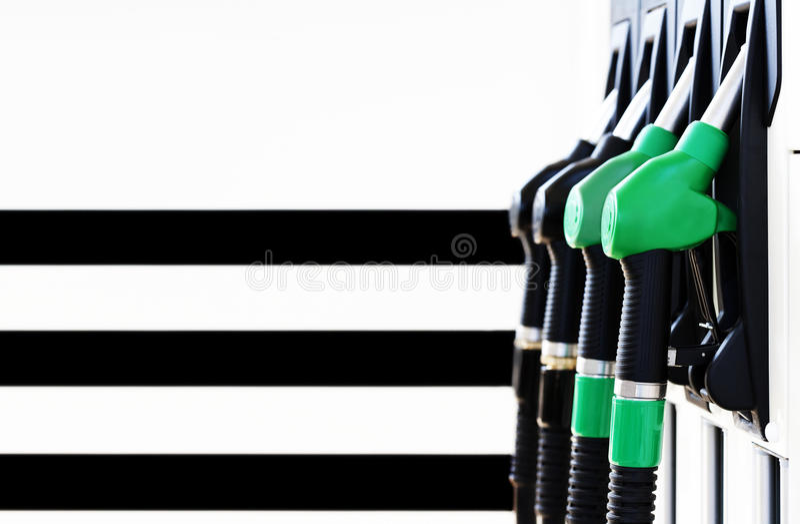 Download Gas pump nozzles stock image. Image of petroleum, auto - 20966339