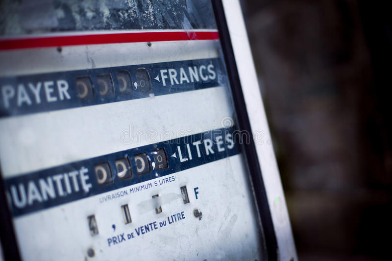 Download Gas pump stock image. Image of object, france, meter - 40141961