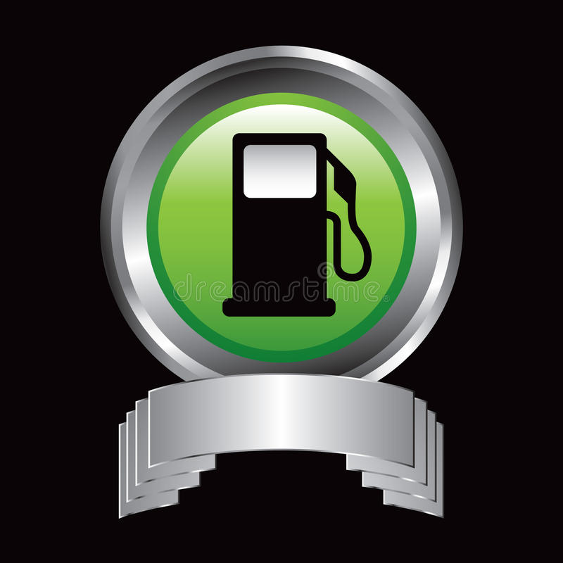 Download Gas pump in silver display stock vector. Image of board - 11273297
