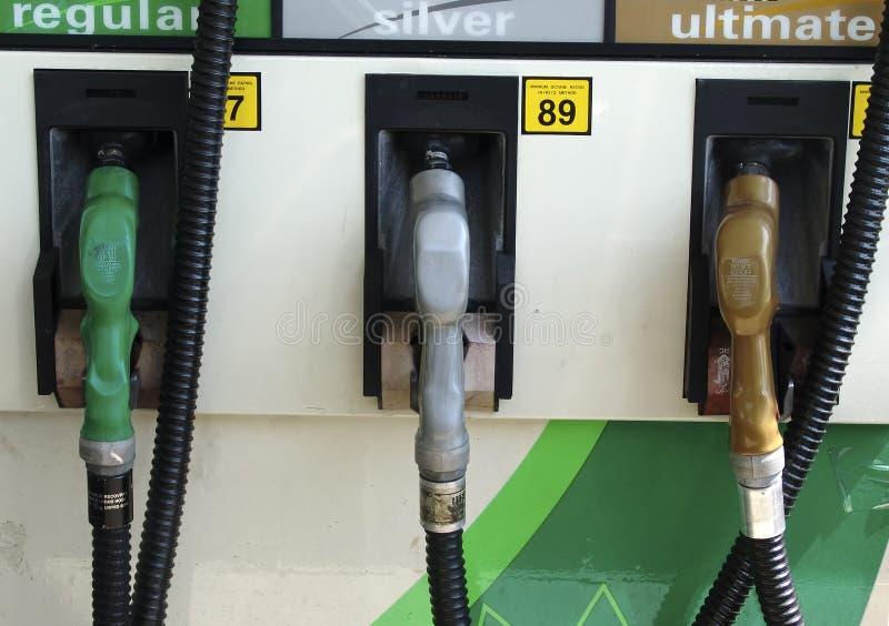 Gas-Pumpen Stockfotografie