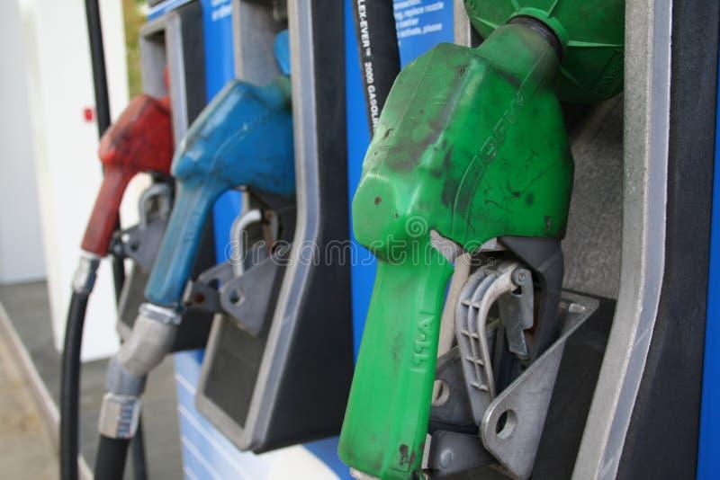 Gas-Pumpen lizenzfreies stockfoto