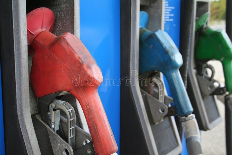 gas pumps στοκ φωτογραφίες