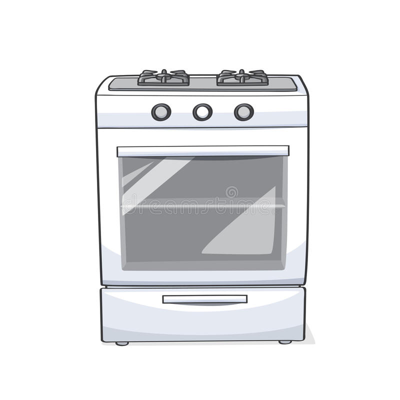 Free Gas Range Oven/stove And Cooktops Royalty Free Stock Photography - 75218647