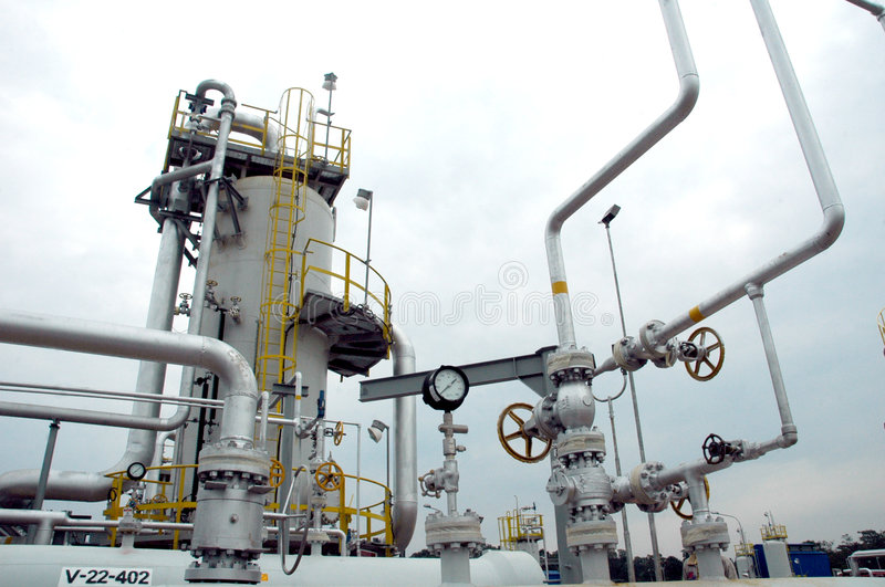 Download Gas refinery stock image. Image of petroleum, valve, fuel - 984203