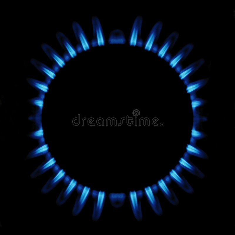 Gas Ring stock photography