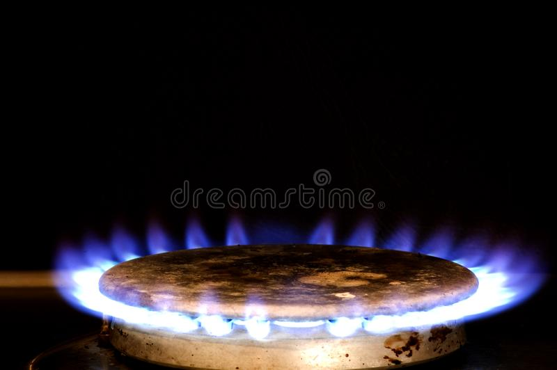 Gas ringer royaltyfria foton
